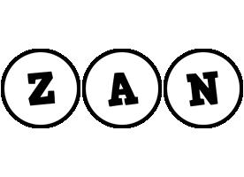 Zan handy logo