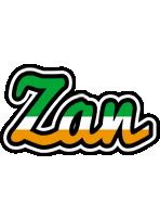 Zan ireland logo
