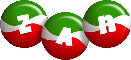 Zan italy logo