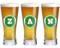 Zan lager logo