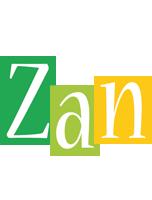 Zan lemonade logo
