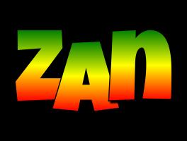Zan mango logo