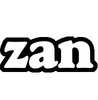 Zan panda logo