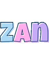 Zan pastel logo