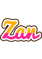Zan smoothie logo