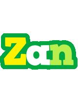 Zan soccer logo