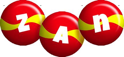 Zan spain logo