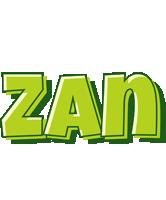 Zan summer logo