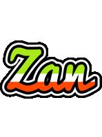 Zan superfun logo