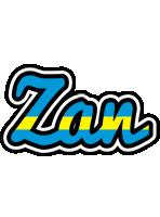 Zan sweden logo