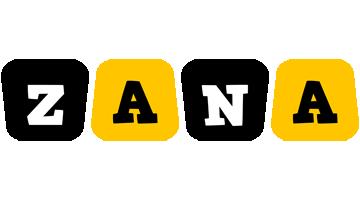 Zana boots logo