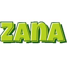 Zana summer logo