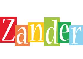 Zander colors logo