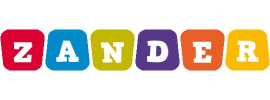 Zander kiddo logo