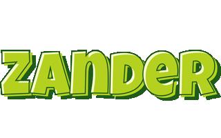 Zander summer logo