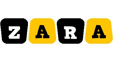 Zara boots logo