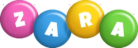 Zara candy logo