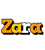 Zara cartoon logo