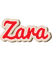Zara chocolate logo