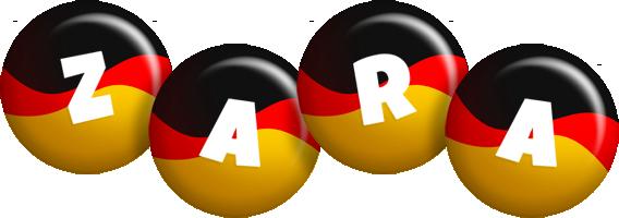 Zara german logo