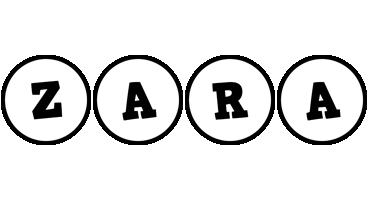 Zara handy logo
