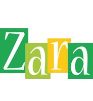 Zara lemonade logo