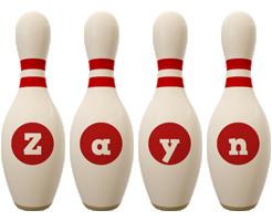 Zayn bowling-pin logo