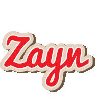 Zayn chocolate logo