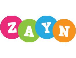 Zayn friends logo