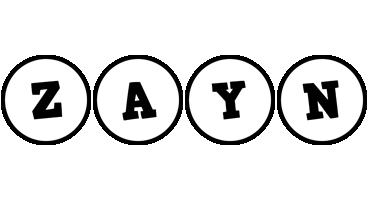 Zayn handy logo