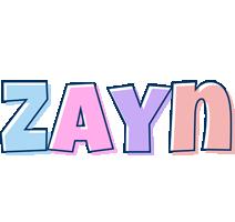 Zayn pastel logo