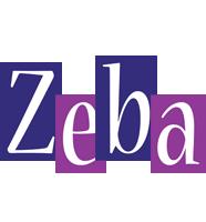 Zeba autumn logo