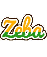 Zeba banana logo