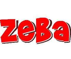 Zeba basket logo