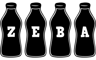 Zeba bottle logo