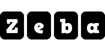 Zeba box logo