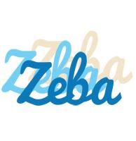Zeba breeze logo