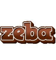 Zeba brownie logo