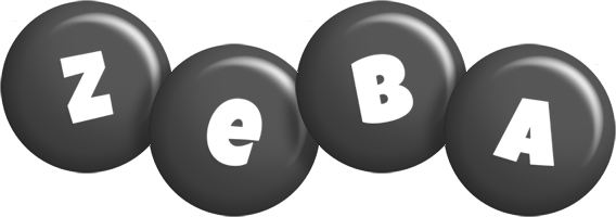 Zeba candy-black logo