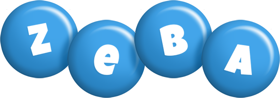 Zeba candy-blue logo