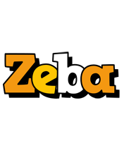Zeba cartoon logo