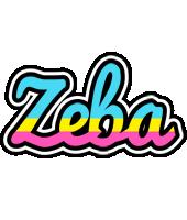 Zeba circus logo