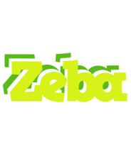 Zeba citrus logo