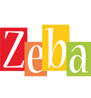 Zeba colors logo