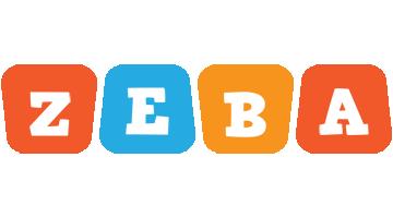Zeba comics logo