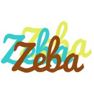 Zeba cupcake logo