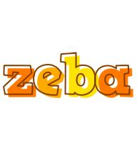 Zeba desert logo