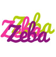 Zeba flowers logo