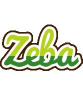 Zeba golfing logo