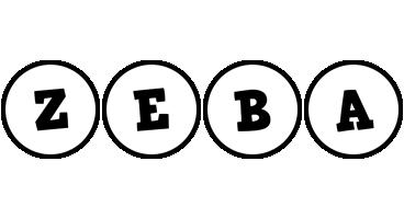 Zeba handy logo